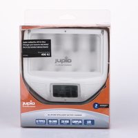 Jupio nabíječka All-In-One Charger pro baterie AA/AAA/9V/C/D/16500/18650/26650 bazar