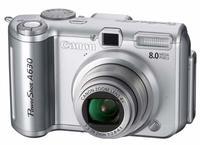 Canon PowerShot A630 + SW Zoner 9 CZ + 1GB SD karta zdarma!