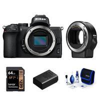 Nikon Z50 + FTZ adaptér - Základní kit