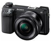 Sony NEX-6 + 16-50 mm černý + 16GB Ultra + brašna + protector LCD!