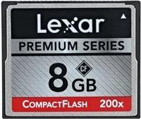 Lexar CF 8GB 200x Premium