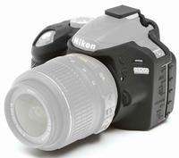 EasyCover silikonové pouzdro pro Nikon D3200 černé