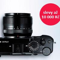 Sleva až 10 000 Kč na pokročilé fotoaparáty Fuji
