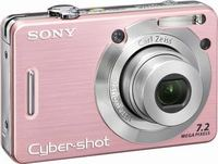 Sony DSC-W55 růžový