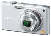 Panasonic DMC-FX33 stříbrný + podvodní pouzdro DMW-MCFX30E