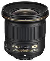 Nikon 20mm f/1,8 G ED