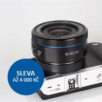 Sleva až 4 000 Kč na fotoaparáty Samsung