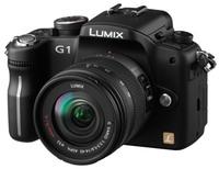 Panasonic Lumix DMC-G1 černý + G Vario 14-45 mm + 45-200 mm