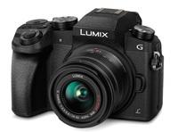 Panasonic Lumix DMC-G7 + 14-42 mm II černý + 32GB karta + brašna Oslo 14Z + poutko na ruku!