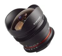 Samyang CINE 8 mm T/3,8 VDSLR CSII pro Fuji X