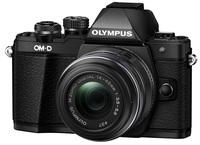 Olympus OM-D E-M10 Mark II + 14-42 mm II R černý + 16GB karta + brašna + pojištění krádež/poškození!