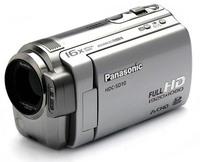 Panasonic HDC-SD10 stříbrná + brašna DFV40 zdarma!