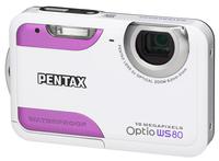Pentax Optio WS80 růžový