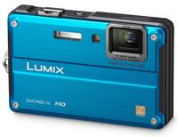 Panasonic Lumix DMC-FT2 modrý