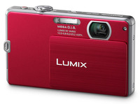 Panasonic Lumix DMC-FP2 červený