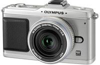 Olympus E-P2 + 14-42 mm Kit stříbrný
