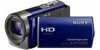 Sony HDR-CX130 modrá + 8GB karta + brašna zdarma!