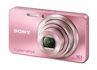 Sony CyberShot DSC-W570 růžový