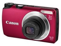 Canon PowerShot A3300 IS červený