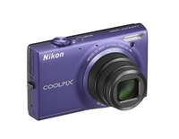 Nikon Coolpix S6100 fialový