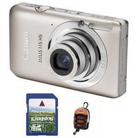 Canon IXUS 115 HS stříbrný + 4GB karta + pouzdro DF11 zdarma!