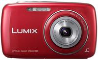 Panasonic Lumix DMC-S3 červený