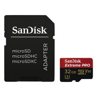 SanDisk Micro SDXC 32GB Extreme 95 MB/s Class 10 UHS-I V30 + Adaptér