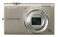 Nikon Coolpix S6200 stříbrný