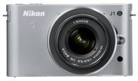 Nikon 1 J1 + 10-30 mm stříbrný