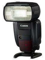 Canon blesk Speedlite 600 EX-RT + portrétní set + 4x AA 2450 mAh!