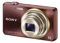 Sony CyberShot DSC-WX100 hnědý