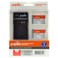 Jupio Kit 2x NB-13L + USB Single Charger pro Canon