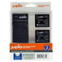 Jupio Kit 2x DMW-BLG10 + USB Single Charger pro Panasonic