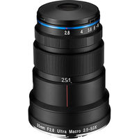 Laowa 25mm f/2.8 2.5-5X Ultra-Macro pro Sony FE