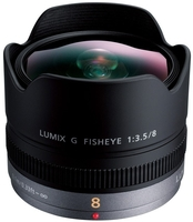 Panasonic Lumix G Fisheye 8mm f/3,5