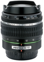 Pentax DA Fish-Eye 10-17mm f/3,5-4,5 ED (IF)