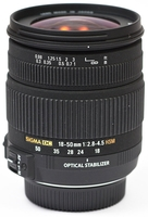 Sigma 18-50mm F 2,8-4,5 DC OS HSM pro Canon