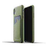 Mujjo kožené peněženkové pouzdro pro iPhone XR