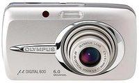 Olympus Mju 600 Digital stříbrný + xD 256 MB