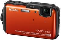 Nikon CoolPix AW110 oranžový + 8GB karta + neoprénové pouzdro + plovoucí poutko!