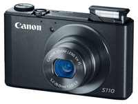 Canon PowerShot S110 černý + 16GB karta + pouzdro 60H + čistící utěrka!