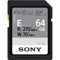 Sony SDXC SF-E 64GB Class 10 UHS-II