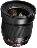 Samyang 16mm f/2,0 ED AS UMC CS pro Fuji X
