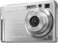 Sony DSC-W80 stříbrný