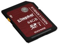 Kingston SDXC 64GB UHS-I Speed Class 3