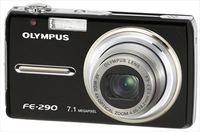 Olympus FE-290 černý + baterie + poutko + pouzdro!