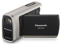 Panasonic SDR-SW20 stříbrný + SD 4GB karta zdarma!