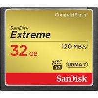 SanDisk 32GB CF EXTREME 120MB/s UDMA7