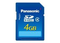 Panasonic SDHC 4 GB Class 4