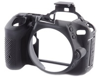 EasyCover silikonové pouzdro pro Nikon D5500 / D5600 černé